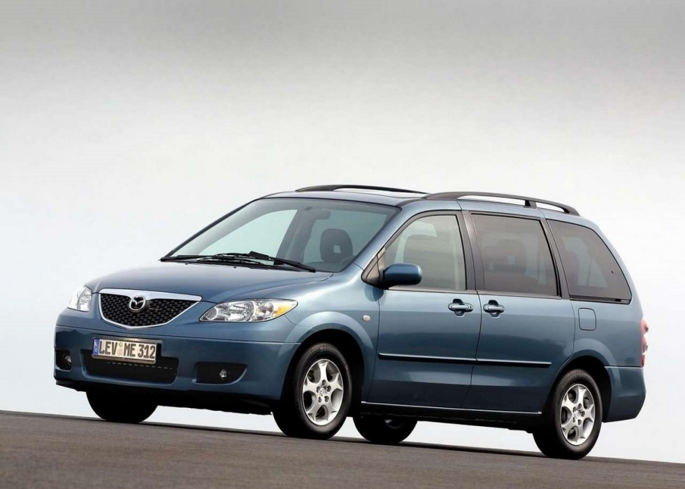 Mazda MPV workshop manual