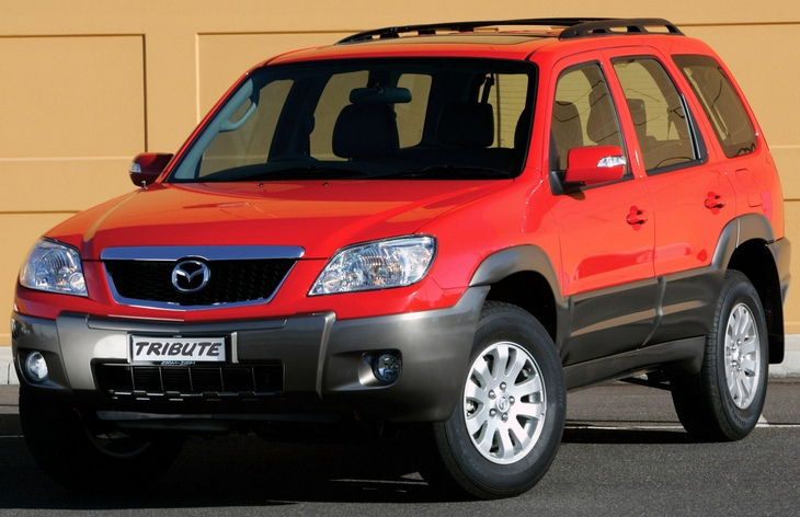 Mazda Tribute service owner's manual