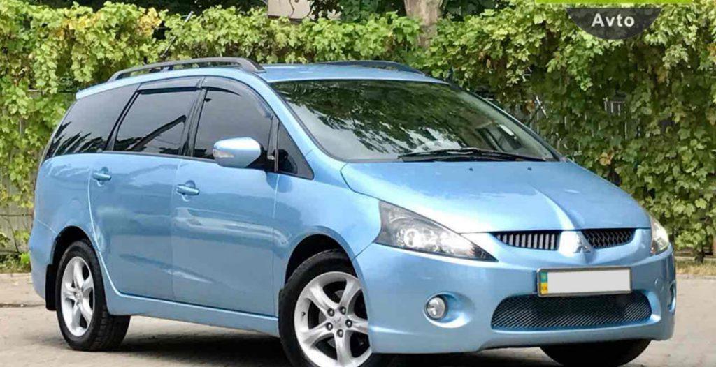 Mitsubishi Grandis repair manual