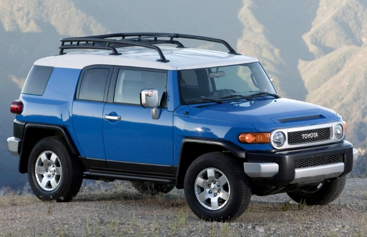 Toyota FJ Cruiser repair manuals