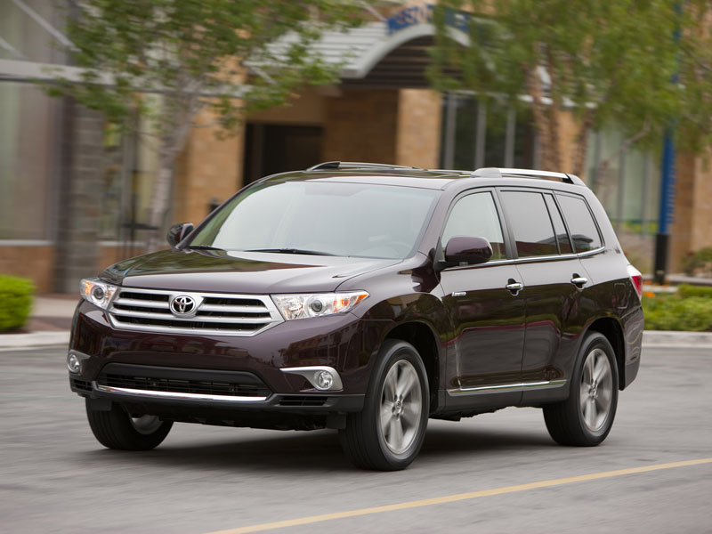 Toyota Highlander repair manuals