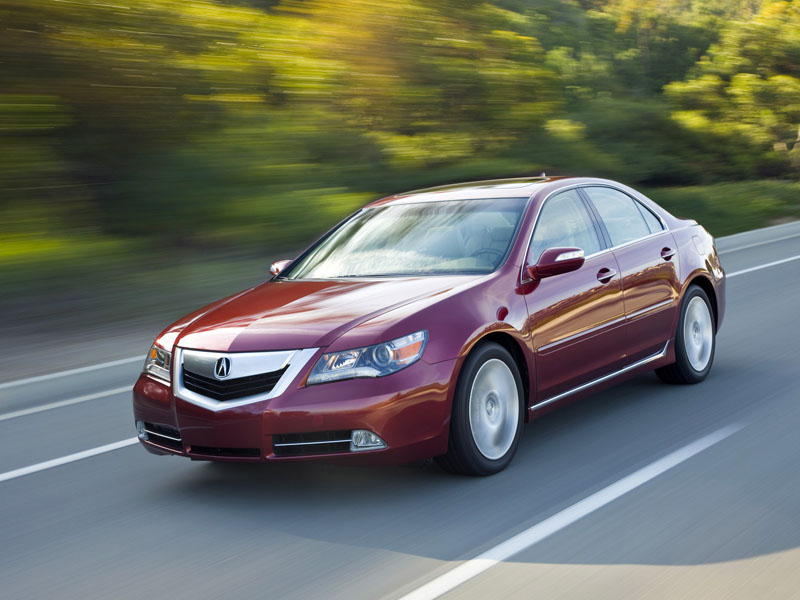 Acura RL service repair manuals