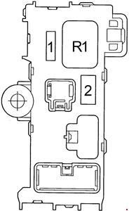 Relay Block No. 1 RHD