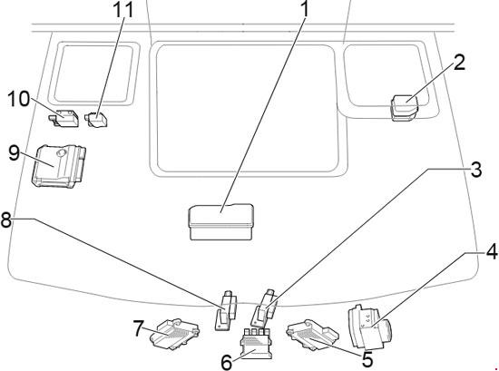 Toyota HiAce Fuse Box Diagram (2013-2018) 5