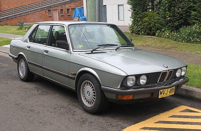 BMW 5 -Series E28 Service Repair Manuals