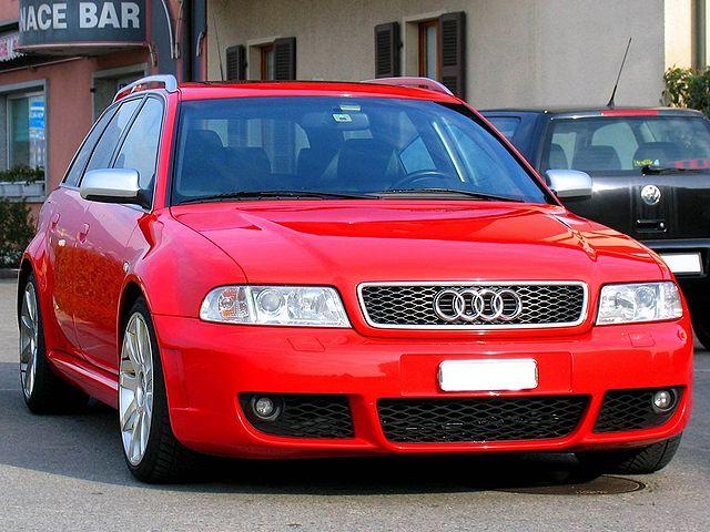 Audi RS 4 Owner's Manual PDF