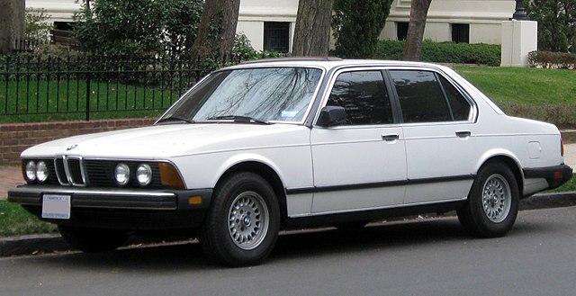 BMW 7-Series E23 Service Repair Manuals