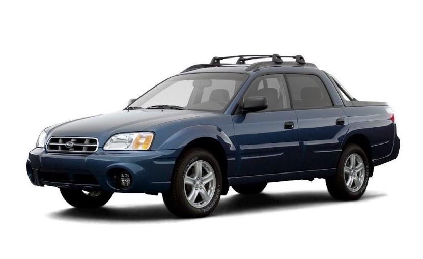 Subaru Baja Workshop Manuals PDF