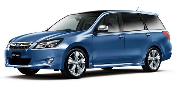 Subaru Exiga Owner's Manuals