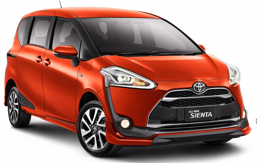 Toyota Sienta Owner's & Maintenance Manuals PDF